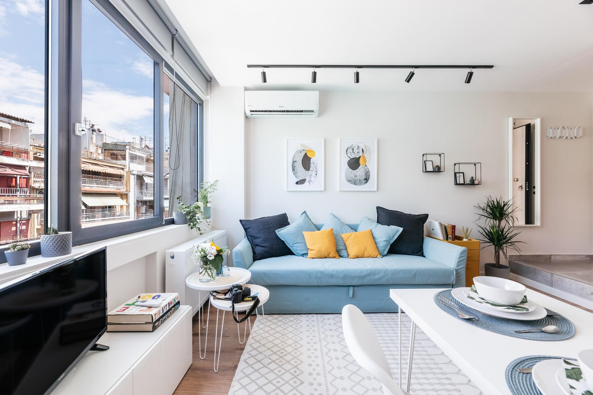 Επαγγελματική φωτογράφιση χώρων Airbnb