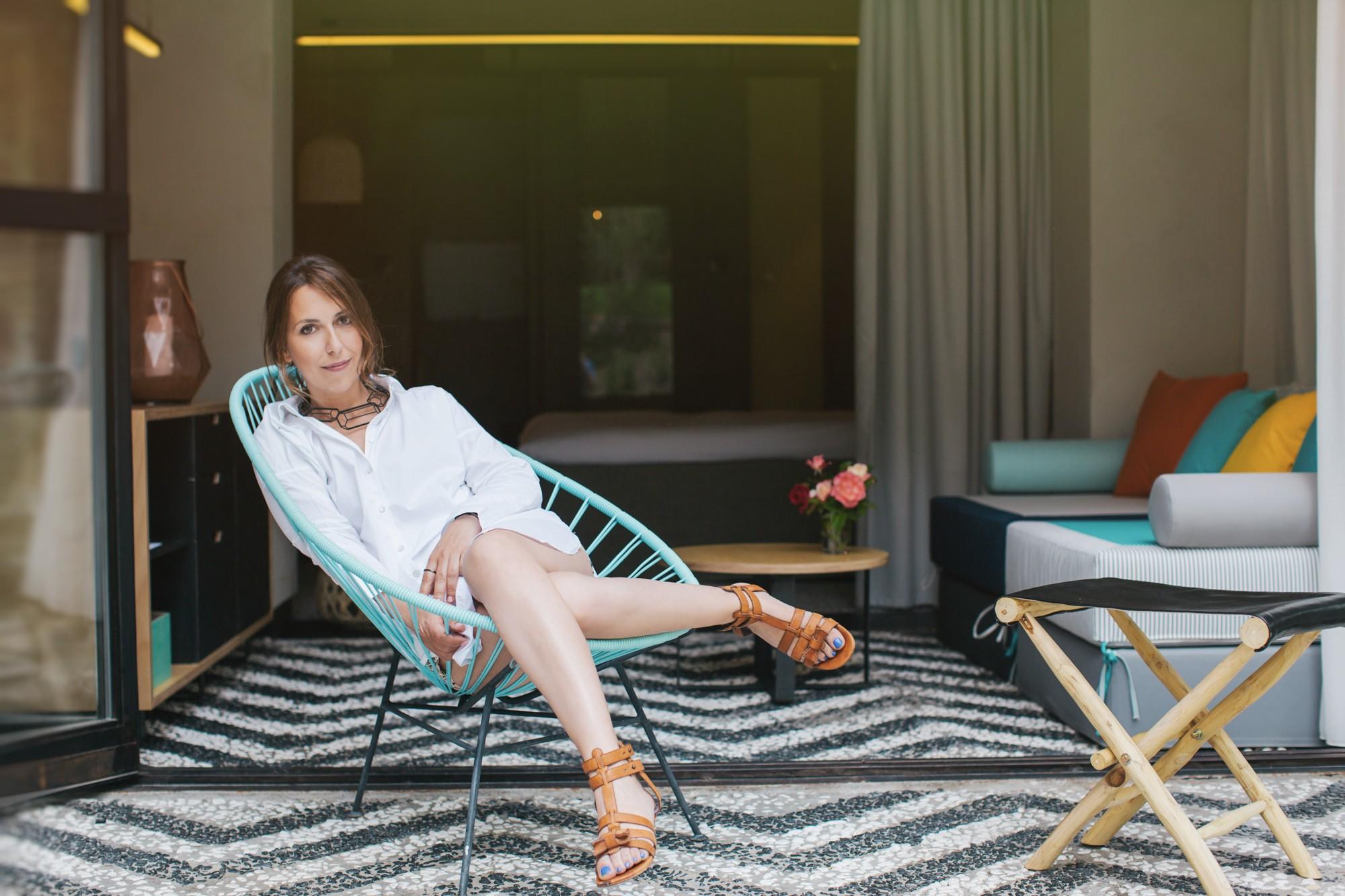 Επαγγελματική φωτογράφισή πορτρέτου στο ξενοδοχείου ΕΚΙΕS All senses Resort