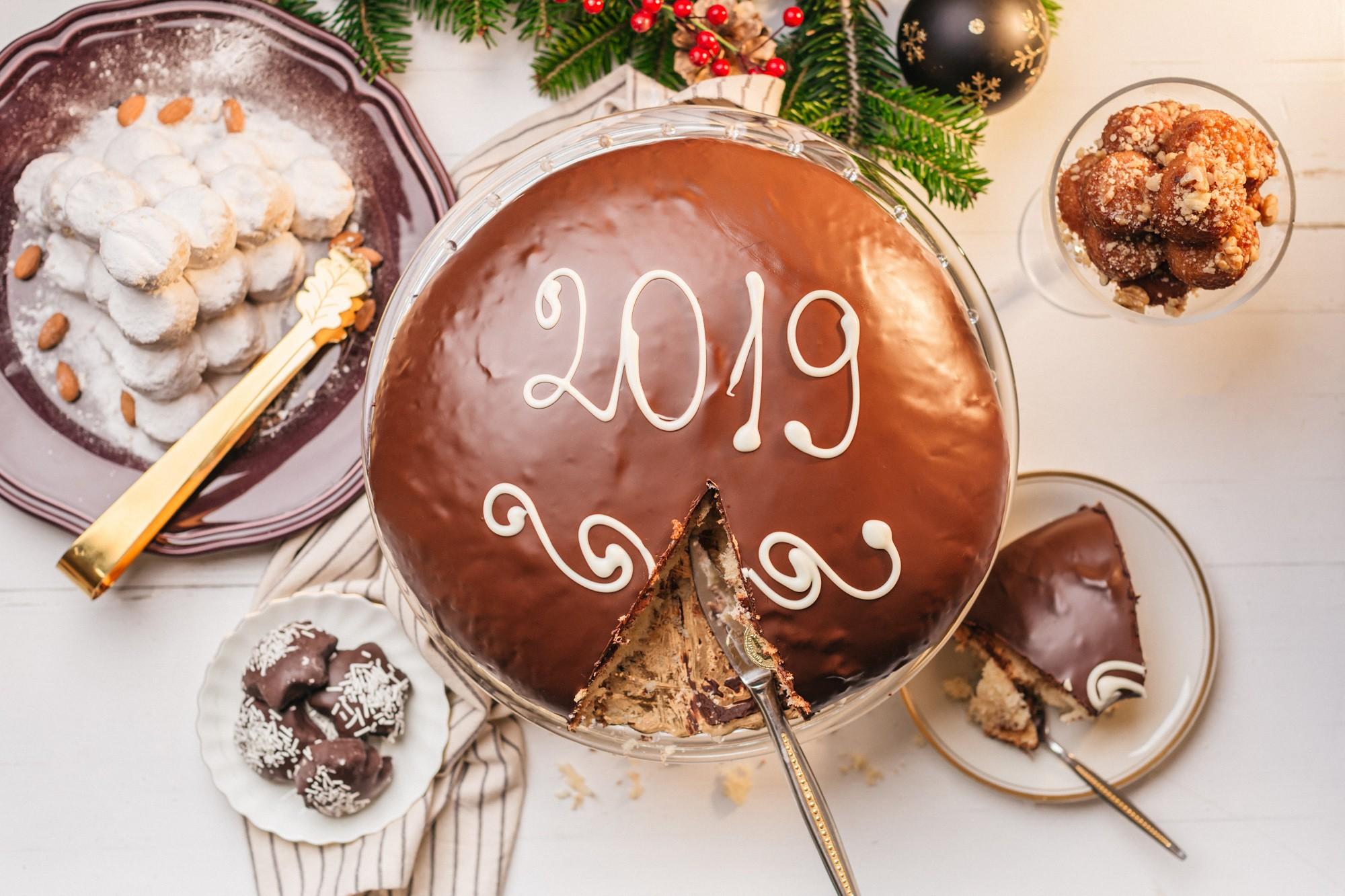 Επαγγελματική φωτογράφισή τροφίμων χριστουγεννιάτικα - Biscotti Τσούγγαρη