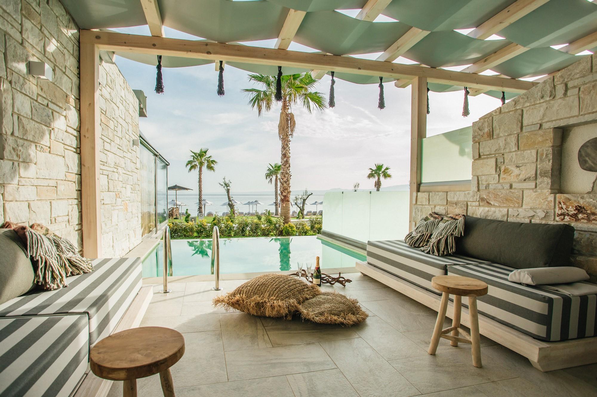 Επαγγελματική Φωτογράφιση ξενοδοχείων - Ξενοδοχείο Blue Carpet Luxury Suites