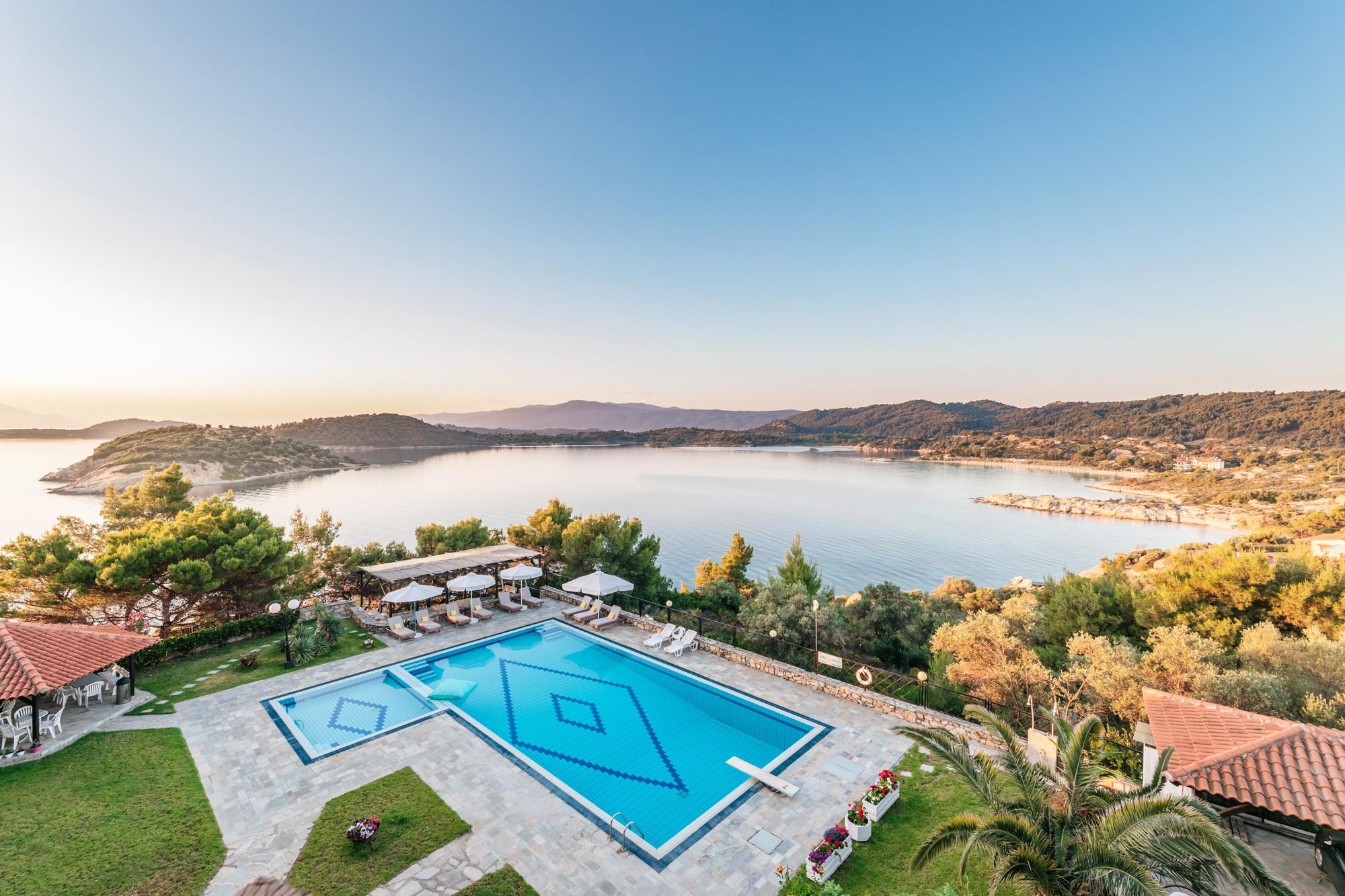 Ξενοδοχείο Theoxenia στην Χαλκιδική - Φωτογράφιση εσωτερικών και εξωτερικών χώρων